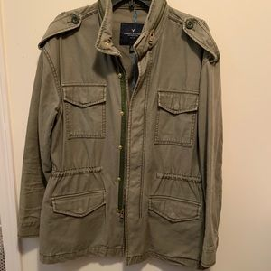 Army Green American Eagle Jacket